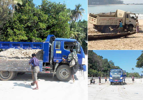 sand-is-loaded-on-a-truck-at-ngapali