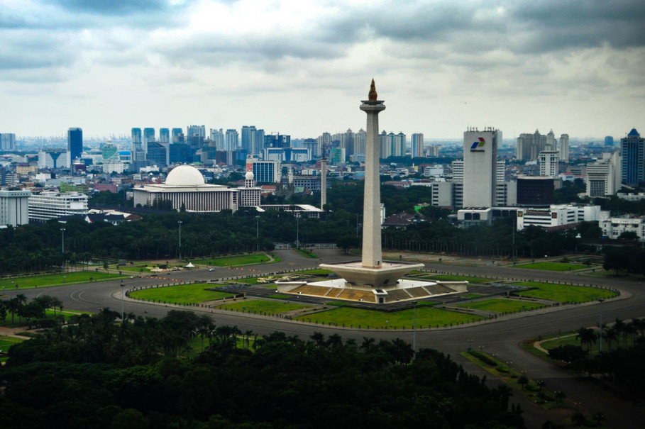Monumen nasional (Monas) di Jakarta. GA Photo/Mohammad Defrizal
